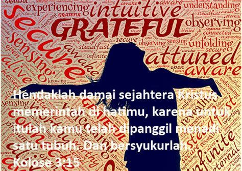 kumpulan kata kata bijak kristen tentang bersyukur