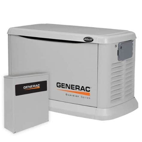 review the generac 6244 20k watt standby generator my