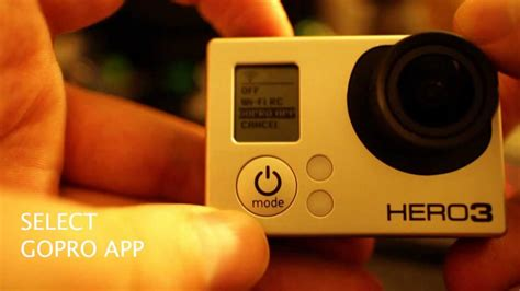 connect gopro to iphone how to connect go pro 3 to iphone android tablet with updated app