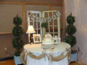 We had three burlap signs in all spread out throughout the room