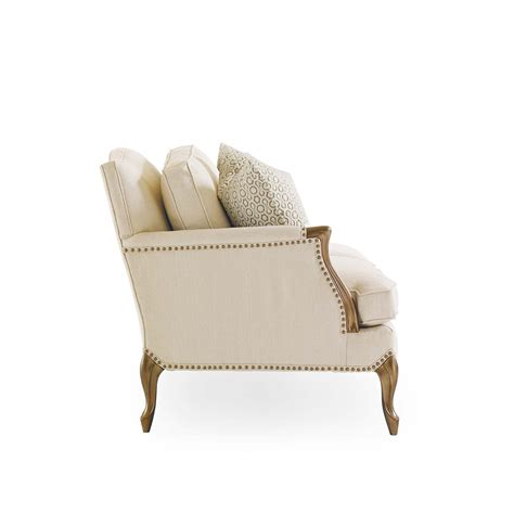 email uph caracole two comfortable delicate neutral french sofa
