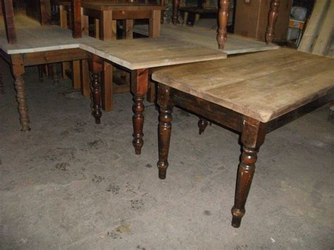 farmhouse tables for sale used secondhand vintage and reclaimed shabby chic furniture