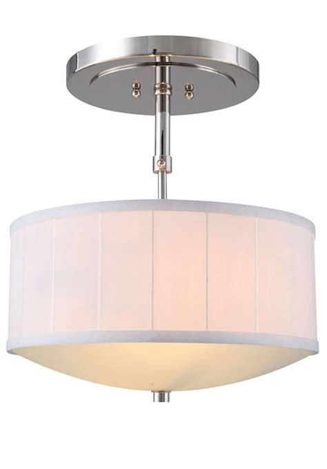 Drop Ceiling Light Fixture Classic 1449d15pn Manhattan Polished Nickel Drum