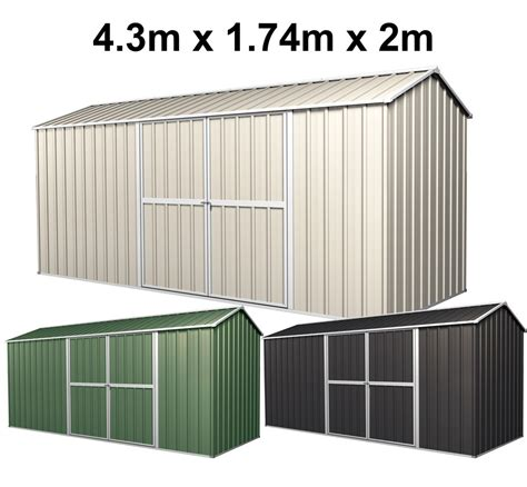Pavillon 2m X 3m by Garden Shed 4 3m X 1 74m X 2m New Model Wholesales Direct