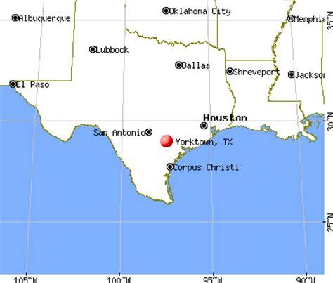yorktown texas map yorktown texas map