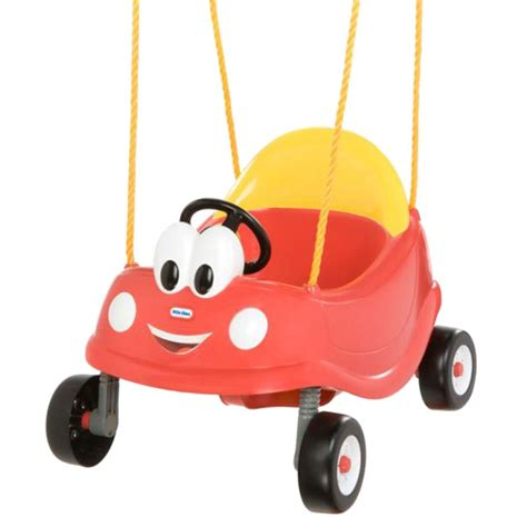 baby swing outdoor little tikes little tikes cozy coupe outdoor baby swing in red buy swings