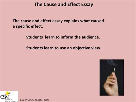 Free Essays Sles by Cause And Effect Essay Sles Free 28 Images Cause And