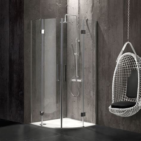 doccia angolare 80x80 box doccia semicircolare 80x80 in cristallo 6 mm senza
