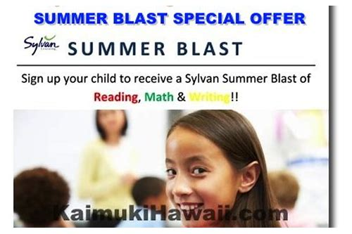 sylvan learning center coupon offer