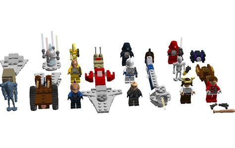 The Knights Of Av Lor custom lego wars advent calendar jkaffekimbo