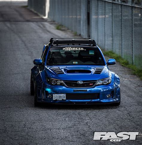 subaru rsti widebody widebody subaru impreza wrx sti fast car