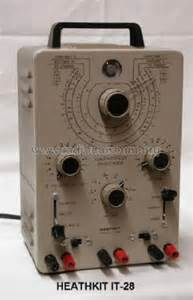 heathkit capacitor checker model it 28 capacitor tester it 28 equipment heathkit brand heath co