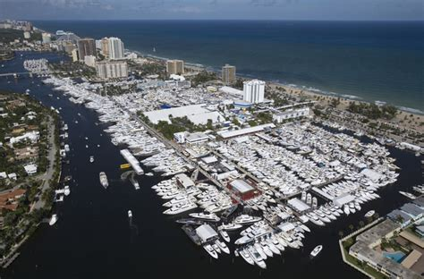 florida in water boat shows doors open to the largest boat show in the world welcome
