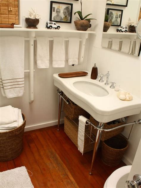 Towel Shelves Bathroom 7 Creative Uses For Towel Racks