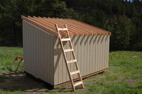 diy wood storage shed plans