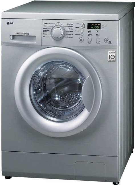 Lg Washing Machine With Built In Mp3 Player by Lg F1091ndl25 6 Kg Fully Automatic Front Loading Washing