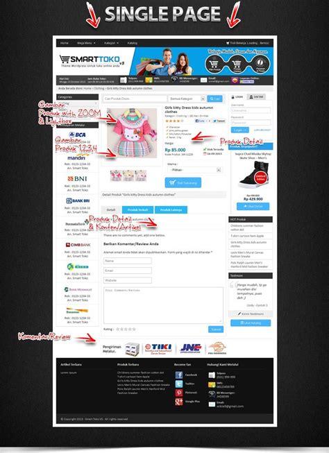 template web toko online responsive web toko online jasa pembuatan web di batam