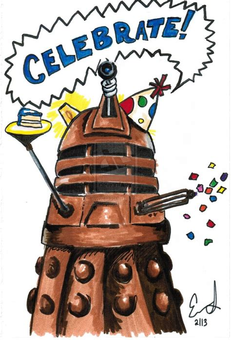 Dr Who Birthday Card Birthday Invitation Strryeyedreamr27s Deviantart