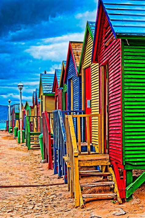 colorful beach houses colorful beach houses 54 pieces jigsaw puzzle