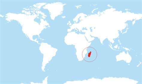 where is madagascar on a world map where is madagascar located on the world map