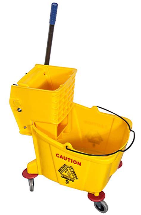 Wringer One Pail Yellow 36l professional 36l single mop wringer trolley