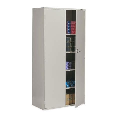 2 door steel storage cabinet global office 9300 series economy 72 quot vertical