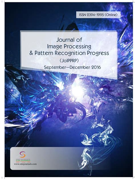 pattern recognition journal article journal of image processing pattern recognition progress