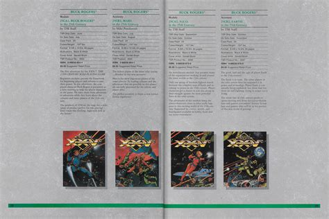 the buck catalog tsr 1990 catalog and the buck rogers xxvc roleplaying