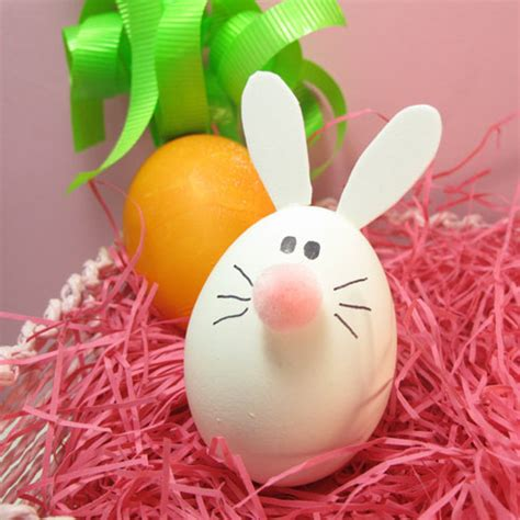 easter craft egg critter animal kids art fun idea hobby