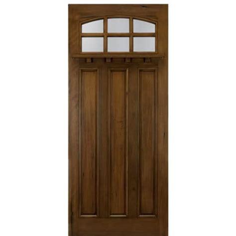 Craftsman Door Dentil Shelf by Craftsman Style 6 Lite Tdl With Dentil Shelf Andean Walnut