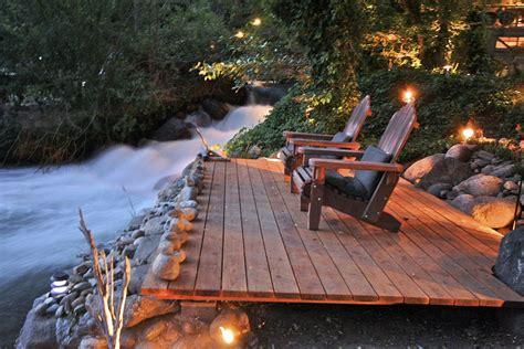 kaweah falls vacation home  river runs