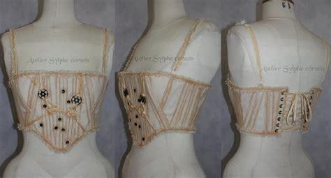 Handmade Corset - handmade steunk corset brassiere by