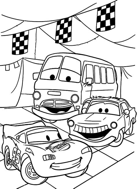 free coloring pages with cars disney cars coloring pages free large images