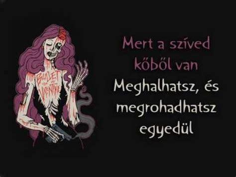 bullet for my alone lyrics bullet for my alone magyar felirattal
