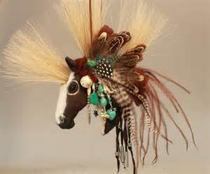 handmade horse ornaments for christmas misha s art