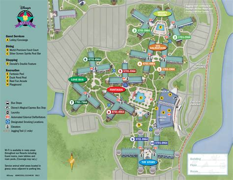 disney resort map new look 2013 resort hotel maps photo 1 of 37