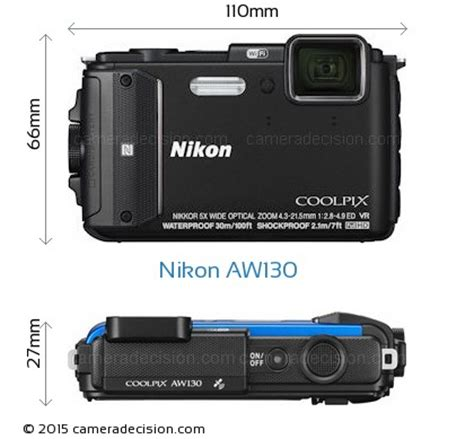 nikon aw130 review and specs