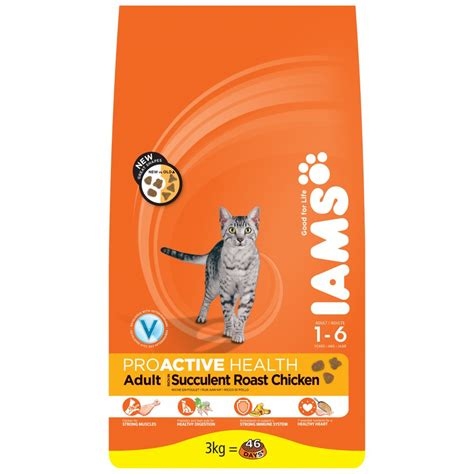 iams food iams proactive complete cat food with chicken at burnhills