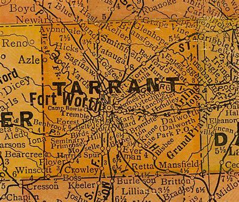 tarrant county texas map tarrant county texas
