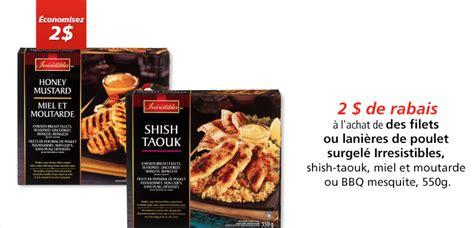 cuisiner des f钁es surgel馥s coupon rabais 224 imprimer de 2 sur les 232 res de poulet