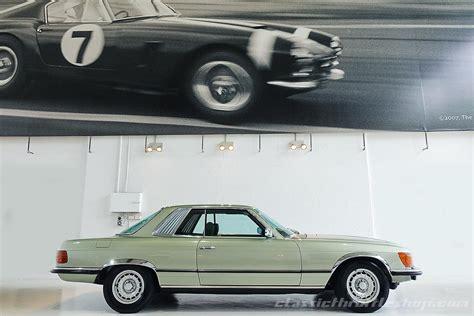 green mercedes benz 1974 mercedes benz 450 slc classic throttle shop
