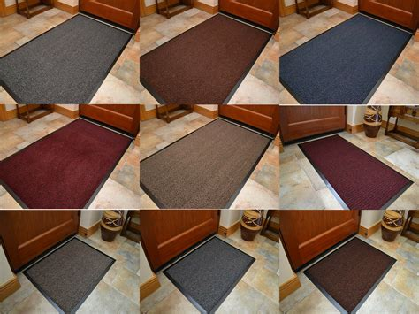 Thin Doormat by Large Size Machine Washable Barrier Mats Kitchen