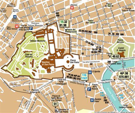 vatican city map catholic vatican map