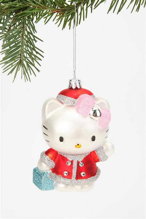 hello kitty blown glass ornament catalog ornaments and love