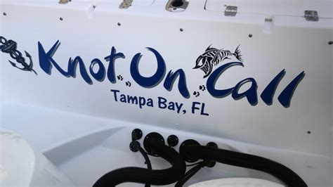 boat names design boat names tabay clearwater designed and installed