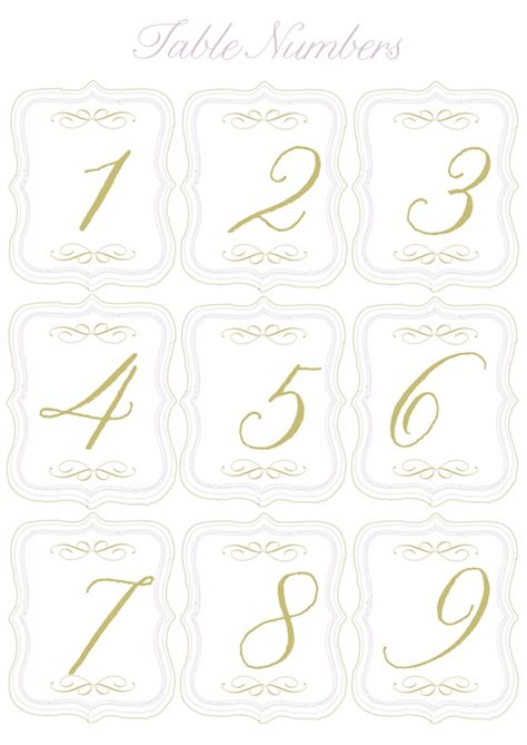 5 Best Images Of Round Table Numbers Printable Printable Table Number Templates Wedding Table Free Table Number Templates