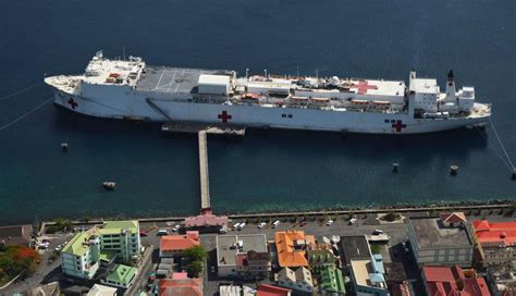 usns mercy and comfort usns comfort ends cp15 mission in dominica naval today