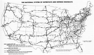 eastern us map with interstates file interstate highway status unknown date jpg