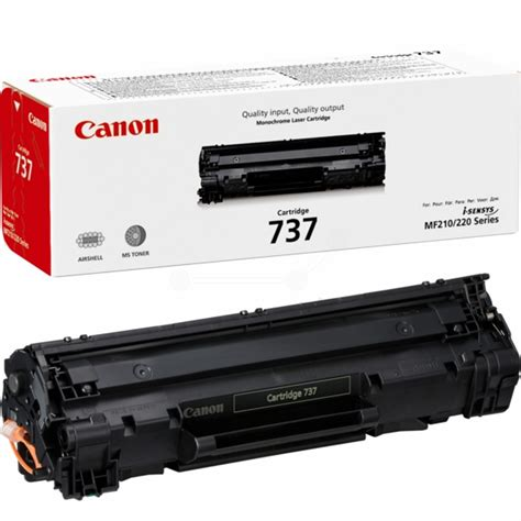 Toner Canon Canon 737 Black Toner Cartridge 2 400 Pages 9435b002aa