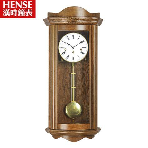 Living Room Pendulum Clock High Grade Solid Wood Wall Clock Pendulum Living